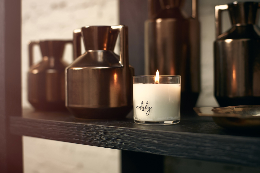 Wicksly candles are simple and elegant