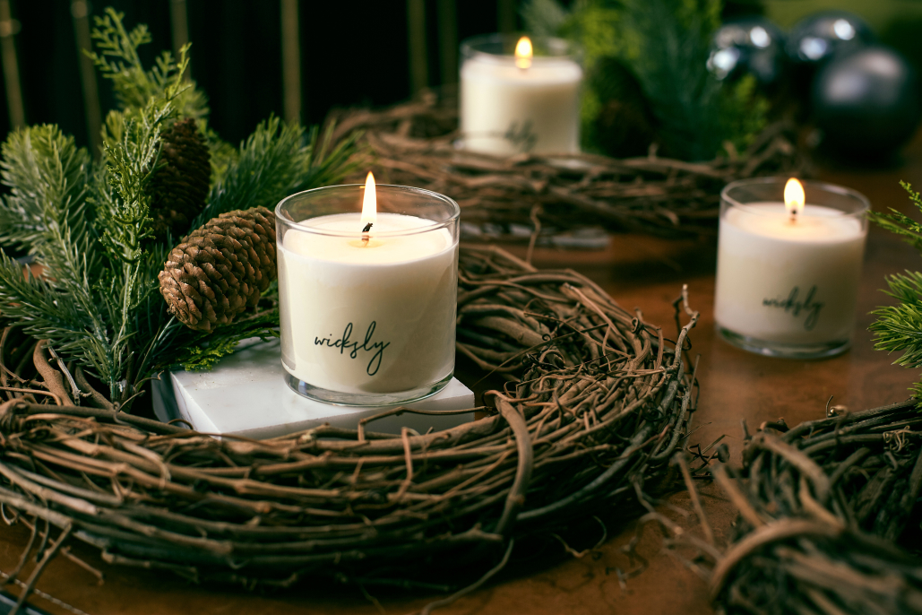 The perfect holiday candle gift